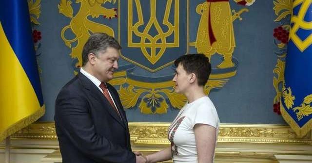 надежда савченко герой украины порошенко тренд этого
